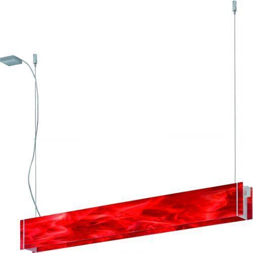 lampa wisząca TRAVERSO VI czerwony, RAMKO 67125/67483