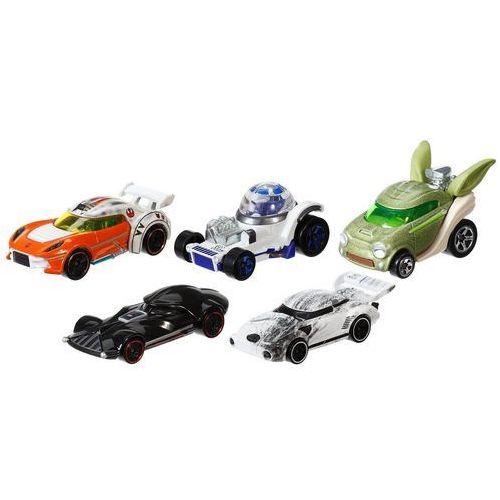 Hot wheels star wars pięciopak pojazdów cgx36