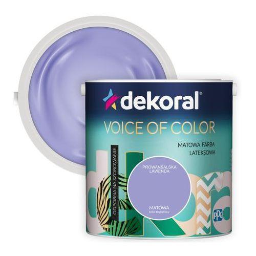 Farba Dekoral Voice of Color prowansalska lawenda 2,5 l, 421618