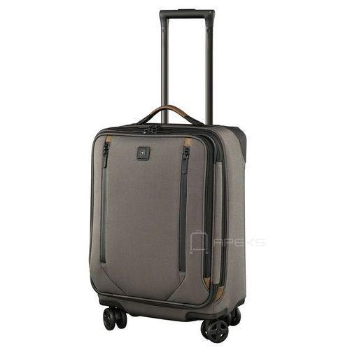 """Victorinox lexicon 2.0 mała poszerzana walizka kabinowa 29/56 cm na laptopa 17"""" i tablet 10'' / szara - grey (7613329018040)"""