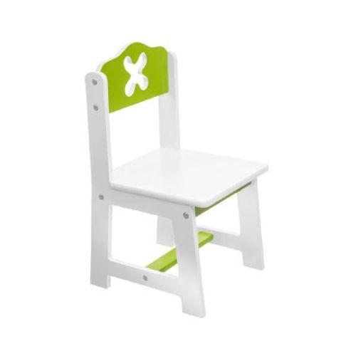 krzesło biały/zielony marki Bieco