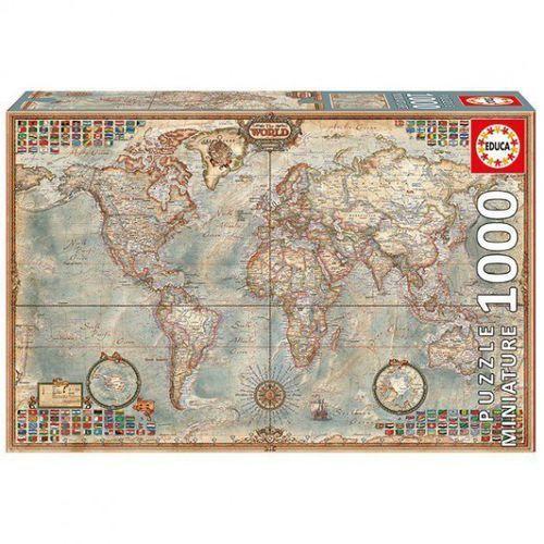 EDUCA 1000 EL. Polityczna mapa świata (8412668167643)