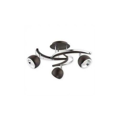 Devi LED lampa sufitowa (spot) 3-punktowa wenge O2413 P3 RW (5902082864370)