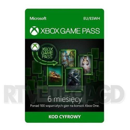 Subskrypcja Xbox Game Pass (6 m-ce) [kod aktywacyjny], S3T-00004