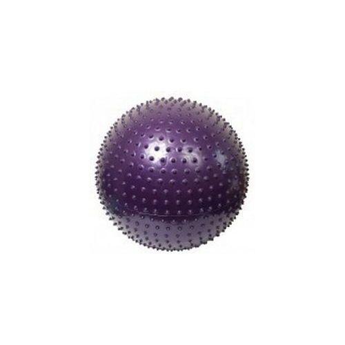massage 75 fioletowa - piłka do masażu z kolcami - fioletowy marki Athletic24