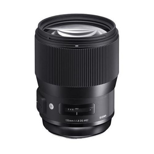 Sigma 135mm f/1.8 dg hsm art (nikon) - przyjmujemy używany sprzęt w rozliczeniu | raty 20 x 0%