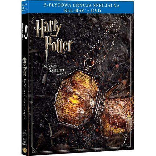 Harry potter i insygnia śmierci, część 1. 2-płytowa edycja specjalna (1bd+1dvd) (płyta bluray) marki David yates