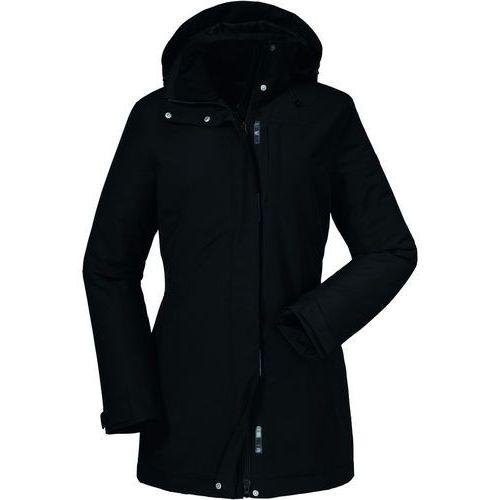 portillo kurtka kobiety czarny de 42 2018 kurtki zimowe i kurtki parki marki Schöffel
