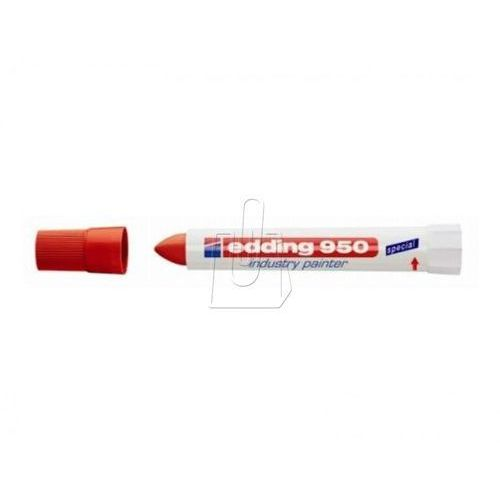 Marker 950 przemysłowy 10 mm czerwony marki Edding