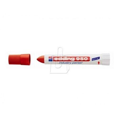 Marker przemysłowy 950 w paście 10 mm czerwony marki Edding
