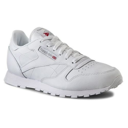 OKAZJA - Buty Reebok - Classic Leather 50151 White, kolor biały