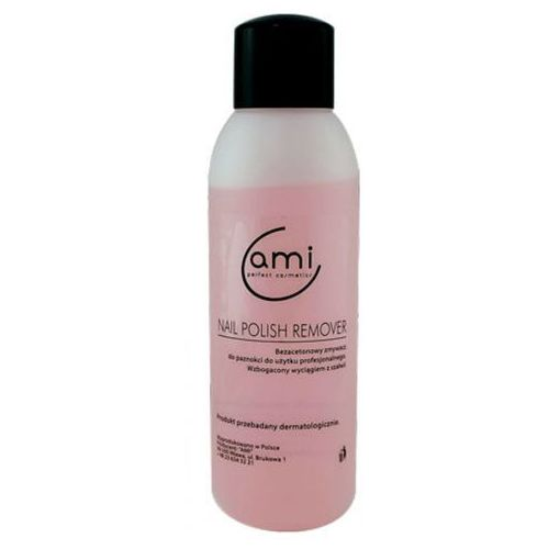 Ami nail polish remover bezacetonowy zmywacz do paznokci - wanilia (500 ml)