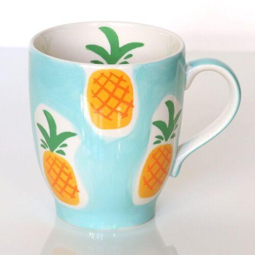 Kubek ananas miętowy – ręcznie malowany z owocowym motywem, uroczy upominek dla najbliższej osoby marki Cup&you cup and you