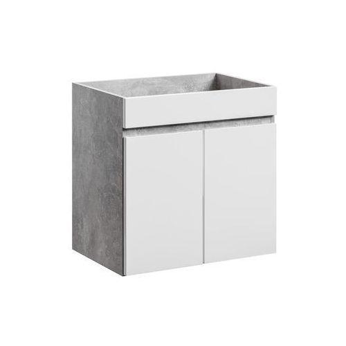 Szafka łazienkowa wisząca 60 cm pod umywalkę atelier 2d marki Comad