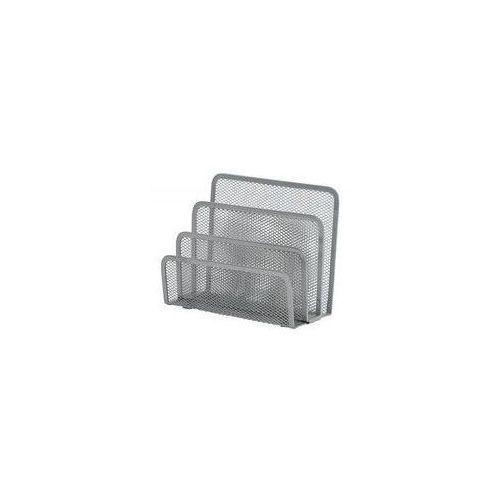 Sorter do korespondencji Q-Connect 3 przegrody metalowy srebrny (5705831008526)