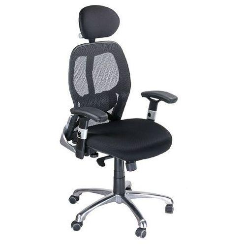 Fotel ergonomiczny bx-4028a czarny marki Corpocomfort