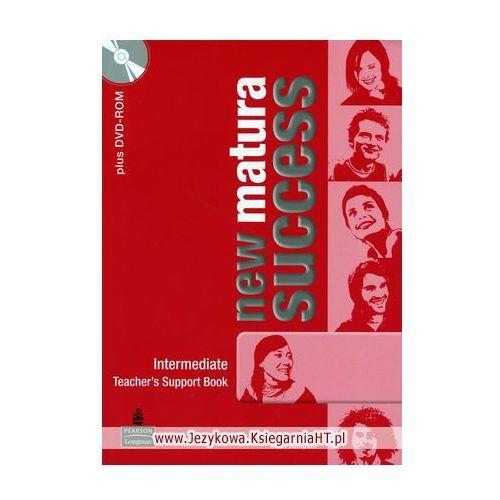 New Matura Succes Intermediate Teachers Book plus MultiRom (9788376002293)