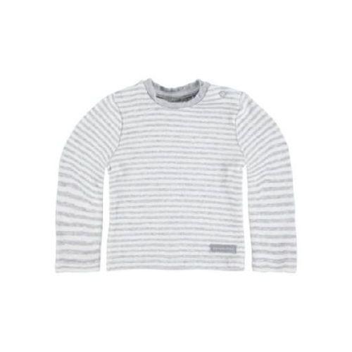 Bellybutton  baby bluzka z długim rękawem silver melange (4055592067081)