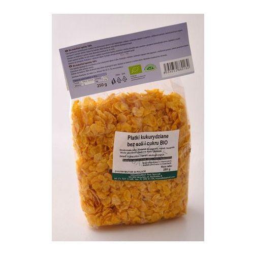 Płatki kukurydziane bez soli i cukru bio 200 g marki Vegamarket