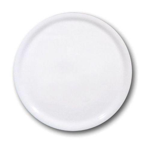 Fine dine Talerz do pizzy porcelanowy biały śr. 33 cm speciale