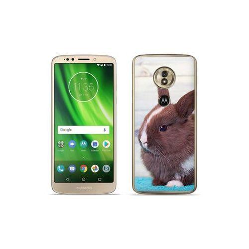 etuo Foto Case - Motorola Moto G6 Play - etui na telefon Foto Case - brązowy królik, ETMT716FOTOFT009000