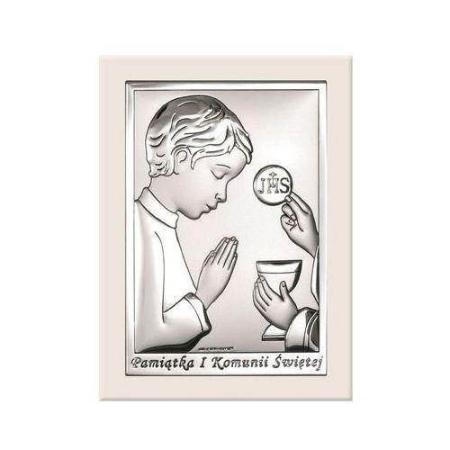 Obrazek Pamiątka I Komunii w białej oprawie -(BC#6491/OW) z kategorii Dewocjonalia