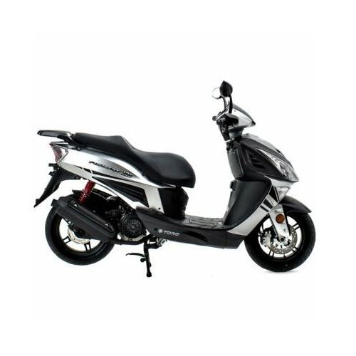 Motocykl formax 125 srebrny darmowy transport marki Torq