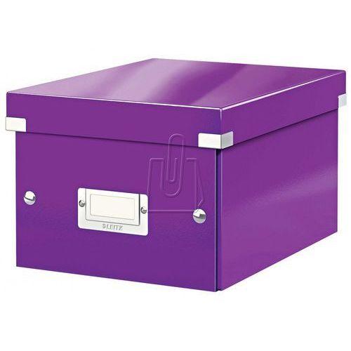 Esselte Pudło click & store małe a5 fioletowe 6043 (4002432103782)