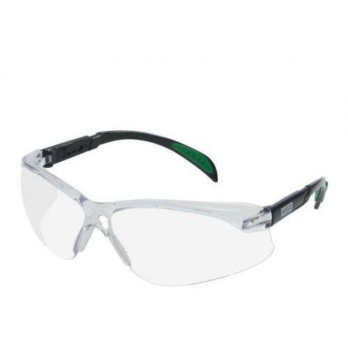 Okulary ochronne blockz clear bezbarwne marki Msa
