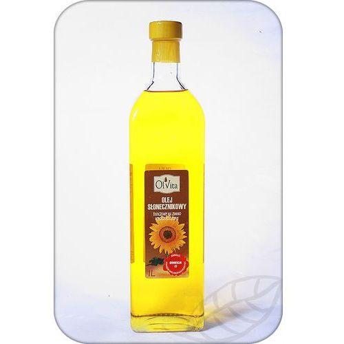 Ol'vita Olej słonecznikowy tłoczony na zimno 1000ml - olvita (5907591923143)