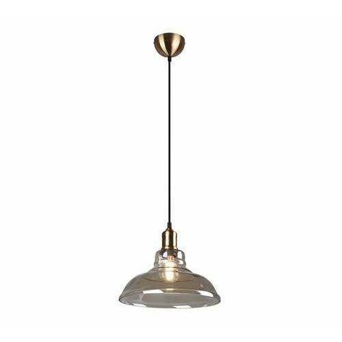 Trio rl aldo r30731004 lampa wisząca zwis 1x28w e27 brązowa/bursztynowa