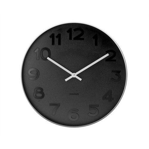 Zegar ścienny mr. black numbers 37,5 by marki Karlsson