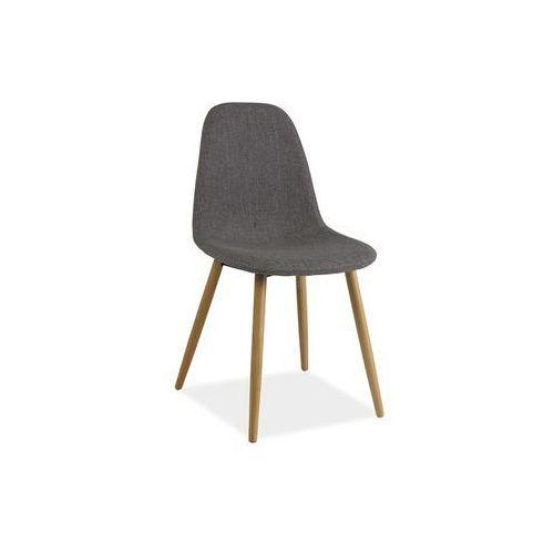 Signal Krzesło drewniane rubi - styl skandynawski