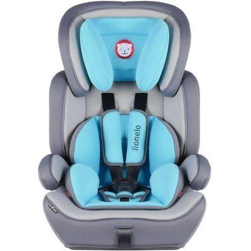 Foteliki samochodowe levi plus błękitny marki Lionelo