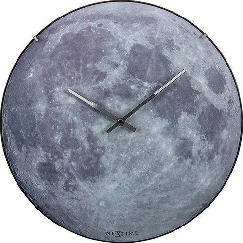 Zegar ścienny 3164 moon dome śr. 35cm marki Nextime