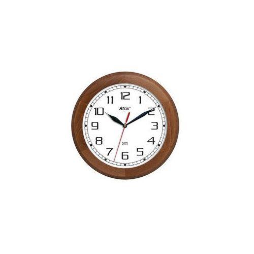 Zegar ścienny drewniany Super Cichy /rondo