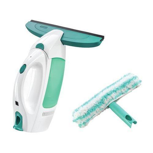 Zestaw: odkurzacz do szyb WINDOW CLEANER oraz dwustronny mop ręczny do szyb - CLICK System LEIFHEIT 51002 (4006501510020)