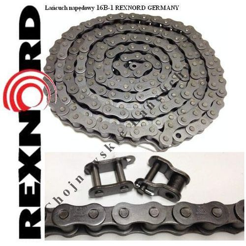 ŁAŃCUCH NAPĘDOWY 16B-1 REXNORD GERMANY Jakość - produkt z kategorii- Pozostałe artykuły przemysłowe