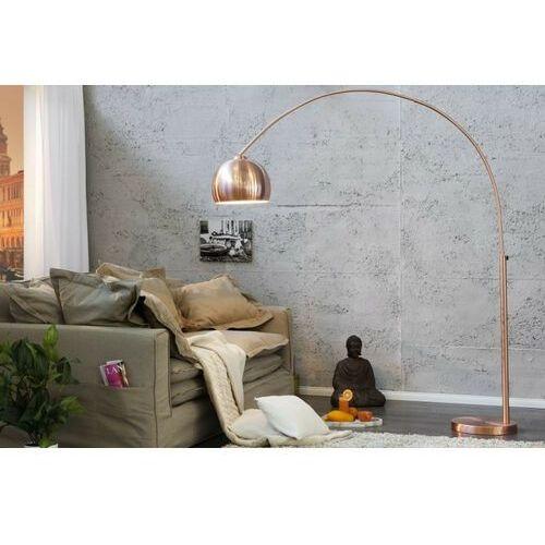 Sofa.pl Invicta lampa podłogowa slack miedziana - 170-210 cm