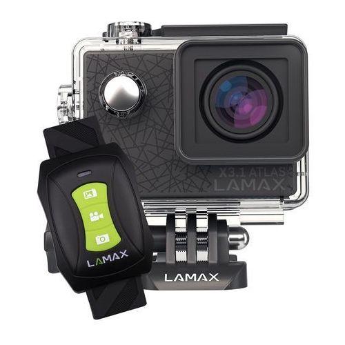 Kamera sportowa action x3.1 atlas + zamów z dostawą jutro! + darmowy transport! marki Lamax