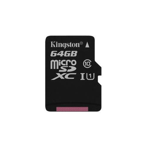 Karta pamięci canvas select microsdxc 64gb uhs-i u1 (80r/10w) (sdcs/64gbsp) marki Kingston