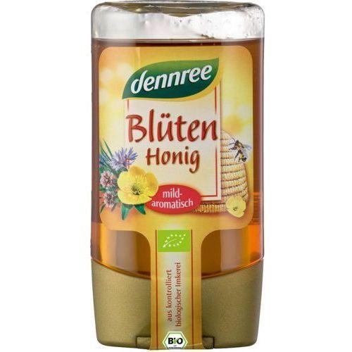 Dennree (dżemy, miody, herbaty) Miód wielokwiatowy bio 250 g - dennree (4021851417850)