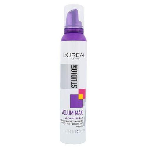 L'oréal pianka do objętości studio line (objętość pianka max) 200 ml