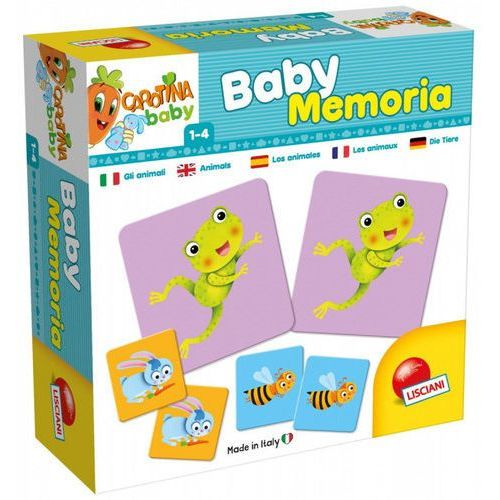 Carotina Baby Memoria Zwierzęta (8008324058501)