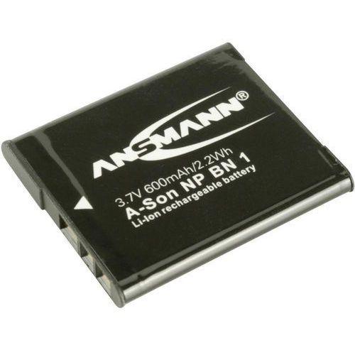 Akumulator do aparatu akumulator zamienny np-bn1 napięcie: 3.7 v pojemność: 600 mah marki Ansmann