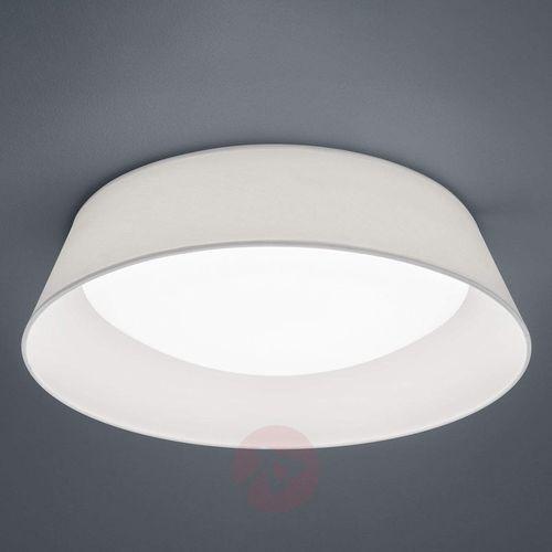 Natynkowa LAMPA sufitowa PONTS R62871801 Trio okrągła OPRAWA abażurowa LED 18W plafon biały (4017807384734)