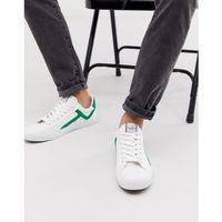 Selected Homme canvas trainers - White, kolor biały
