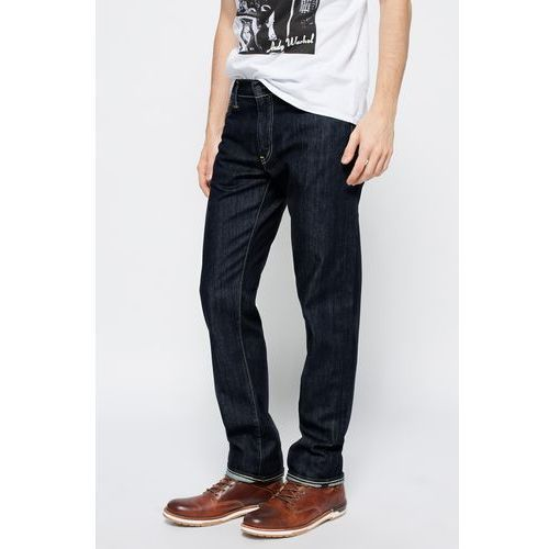 Levi's - Jeansy 504 Regular Straight Fit Worn, jeansy