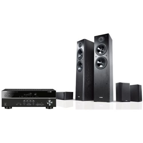 Yamaha Kino domowe rxv383bl + nsf51 + nsp51 czarny + zamów z dostawą w poniedziałek! + darmowy transport!