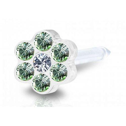daisy peridot / crystal 5 mm marki Blomdahl